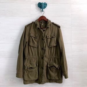 Free People Not Your Brothers Surplus Jacket